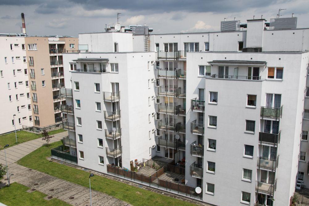 Osiedle mieszkaniowe przy ul. Sławka w Katowicach