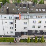 """zdjęcie przedstawiające Osiedle mieszkaniowe """"Bulwary Rawy"""" - etap IV zadanie nr 1 - adaptacja , nadbudowa i rozbudowa"""
