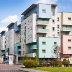 """zdjęcie przedstawiające Osiedle mieszkaniowe """"Bulwary Rawy"""" - etap III - zadanie nr 1 i nr 2"""