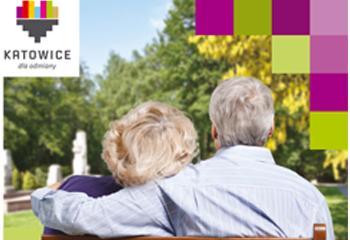 Baner z napisem Informator dla seniorów