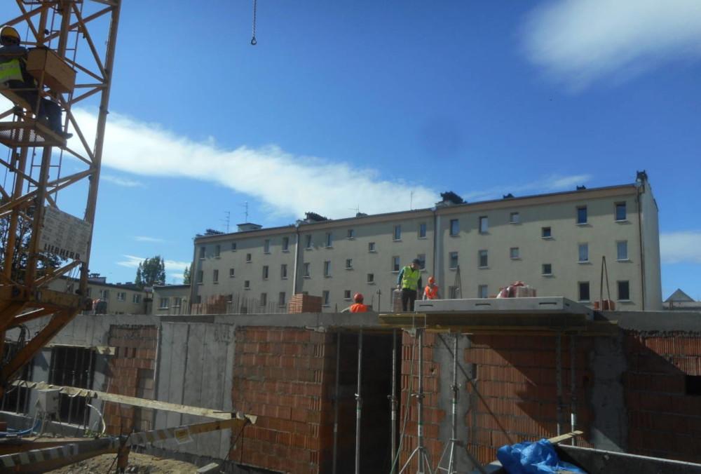 budowa bloku Krasińskiego