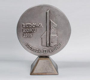 """""""Bodowa Roku 2005"""" Nagroda II stopnia za Budynek przy ul. Skowrońskiego"""